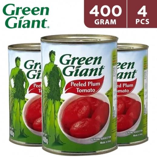 Green Giant Whole Peeled Tomato 4 x 400 g