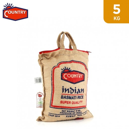 Country World Longest Indian Basmati Rice XL 5 Kg