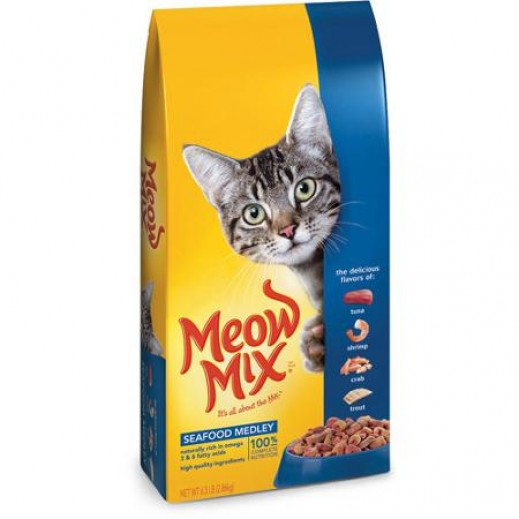 Meow Mix Seafood Medley (Cats Food) 1.43 kg
