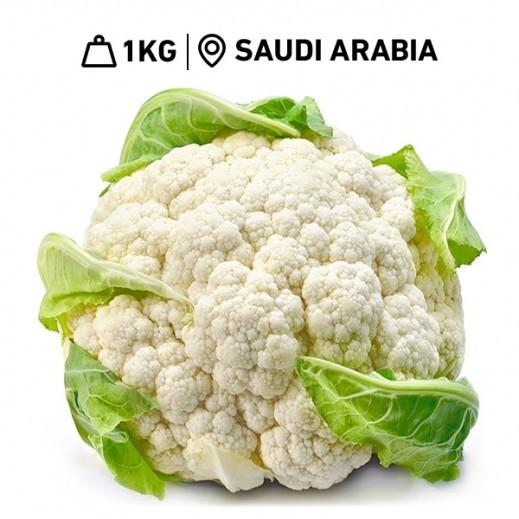 Fresh Saudi Cauliflower (1 kg Approx.)