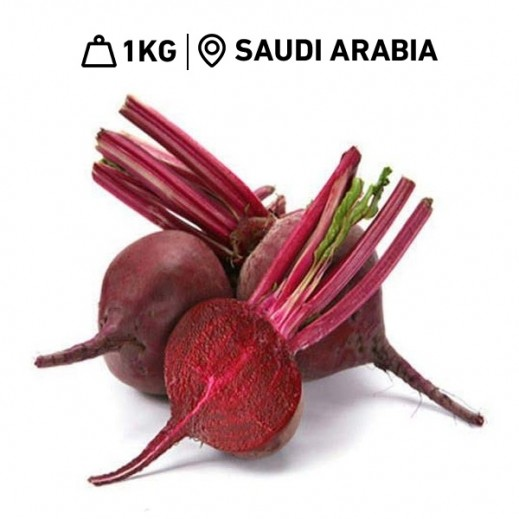 Fresh Saudi Red Beetroot (1 kg Approx)