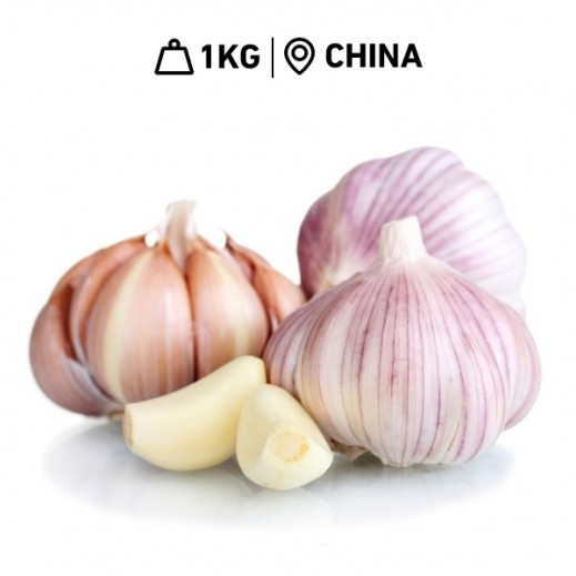 Fresh Chinese Garlic (1 kg Approx.)