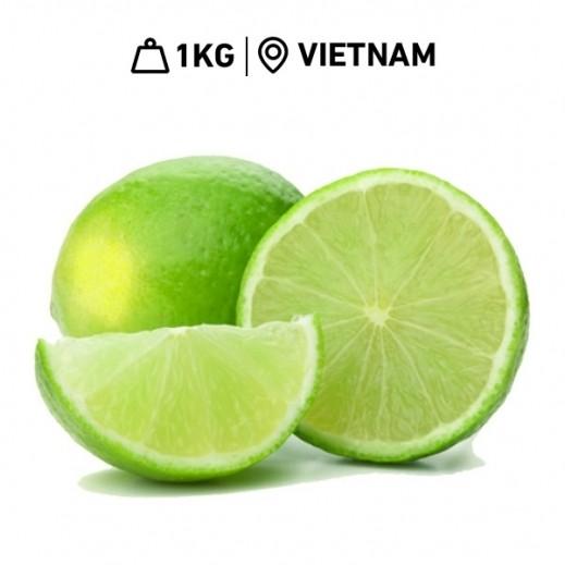 Fresh Vietnamese Seedless Lemons (1 kg Approx.)