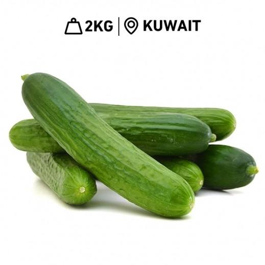 Fresh Kuwaiti Cucumbers (2 kg Approx.)