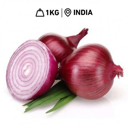 Fresh Indian Onions (1 kg Approx.)