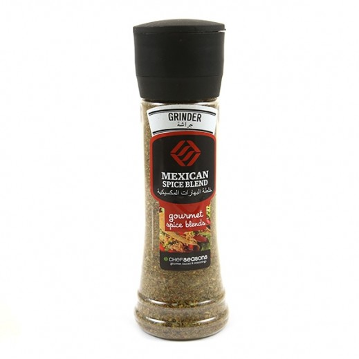 Chef Seasons Mexican Spice Blend with Grinder 150 g