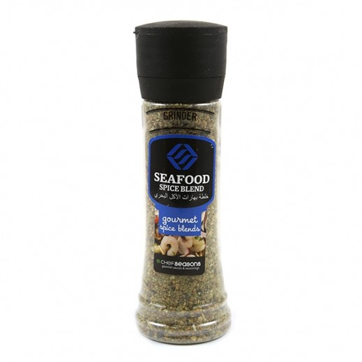 Chef Seasons Seafood Spice Blend with Grinder 150 g