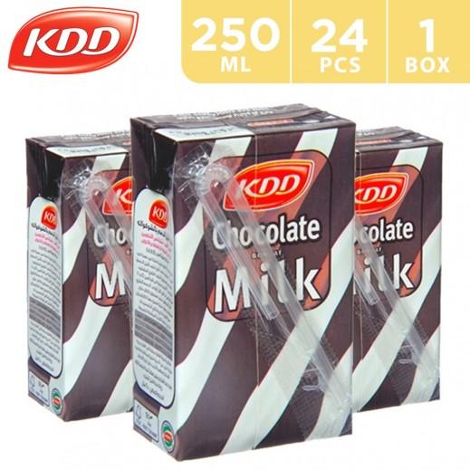 KDD Chocolate Flavoured Milk Carton 24x250 ml