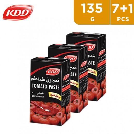 KDD Tomato Paste 135 g (7+1 Free)