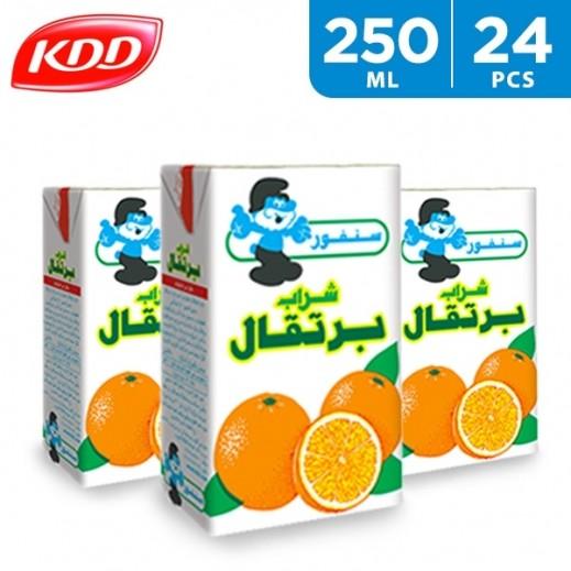 KDD Orange Sunfor Drink 24 x 250 ml
