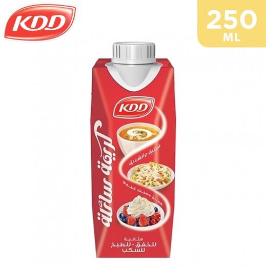 KDD Liquid Whipping Cream 250 ml