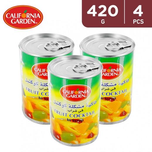 California Garden Fruit Cocktail (4 x 420 g)