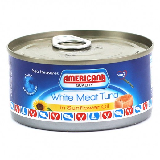 Americana White Meat Tuna in Sunflower Oil 185 g