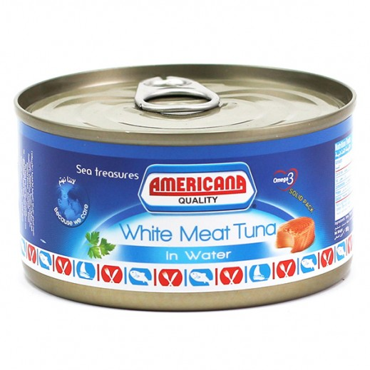 Americana White Meat Tuna in Water 185 g