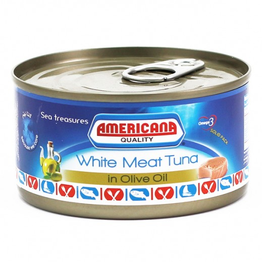 Americana White Meat Tuna in Olive Oil 185 g