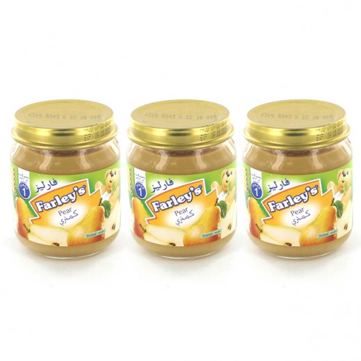 Farleys Pear Flavour Baby Food 120g (3 x 120g)