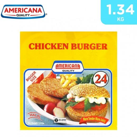 Americana 24 Chicken Burger Bag 1.344 kg