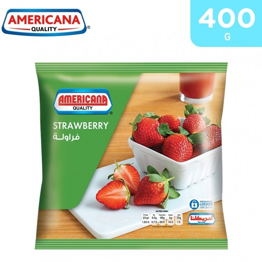 Americana Frozen Strawberry 400 g