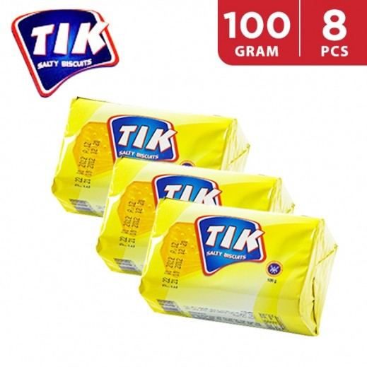 KFM Tik Salty Biscuits 100 g (8 Pieces)