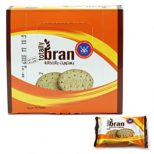 KFM Totally Bran Biscuits 25 g (18 Pieces)