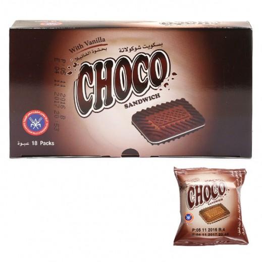 KFM Choco Biscuits 15 g (18 Pieces)