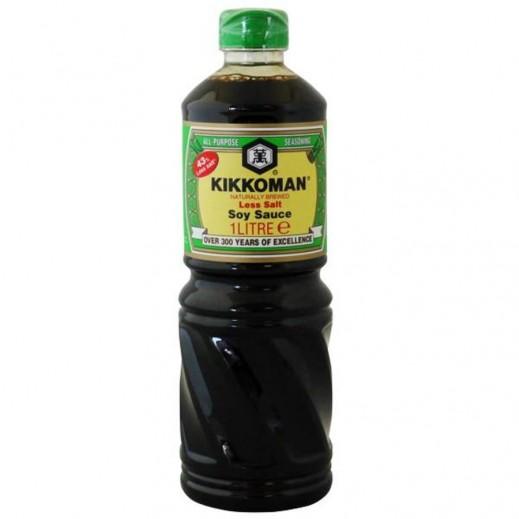 Kikkoman Less Salt Soy Sauce Pet 1 L
