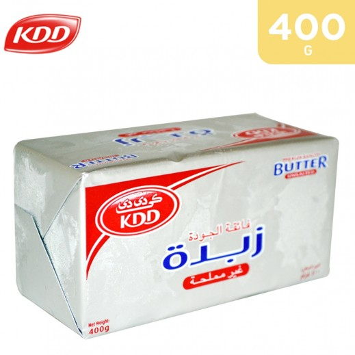 KDD Butter Unsalted 400 g