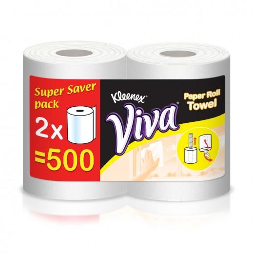 Kleenex Viva Household Towel Roll 2 x 250 m