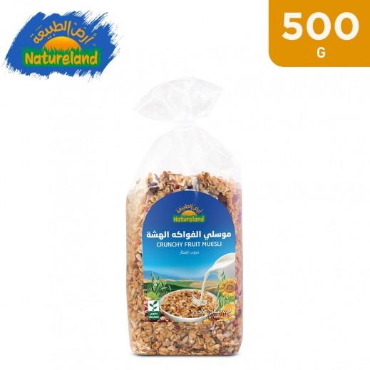 Natureland Fruit Crunchy Muesli 500 g