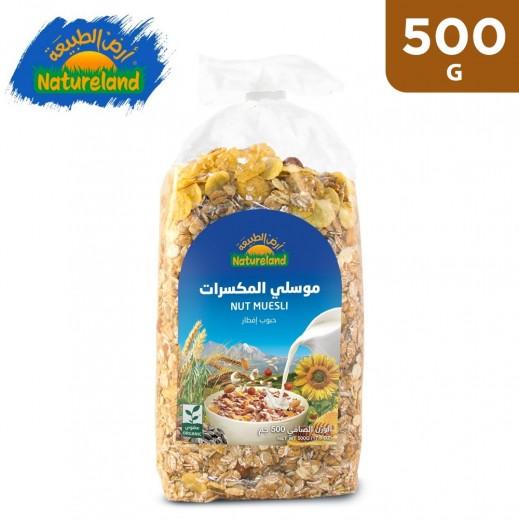 Natureland Nut Muesli Organic 500 g