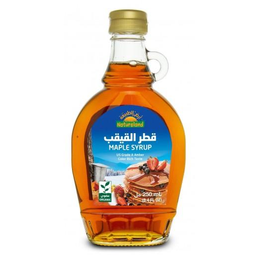 Natureland Pure Organic Maple Syrup 250 ml