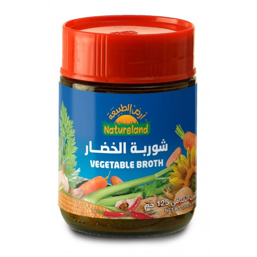 Natureland Vegetable Broth Extract 125 g