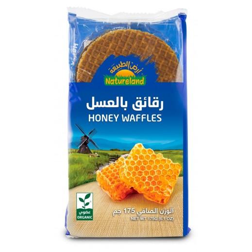 Natureland Honey Waffles 175 g