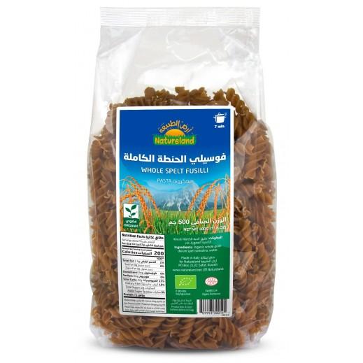Natureland Organic Whole Spelt Fusilli 500 g