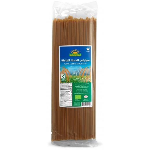 Natureland Organic Pasta Whole Spelt Spaghetti 500 g
