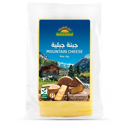 Natureland Organic Mountain Cheese 150 g