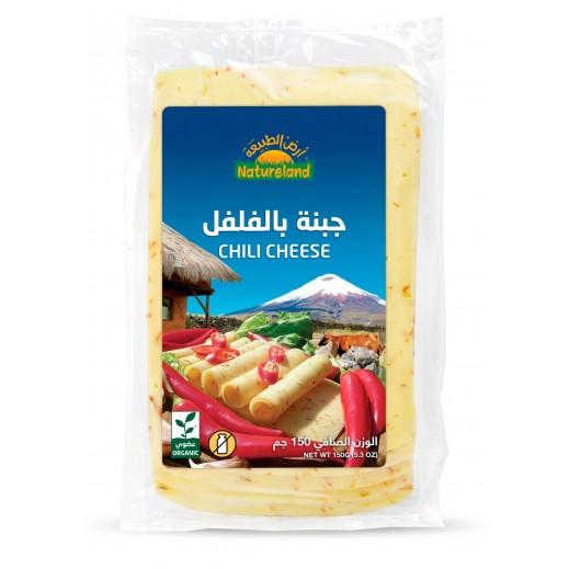 Natureland Organic Chili Cheese 150 g
