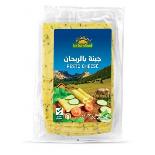 Natureland Organic Pesto Cheese 150 g