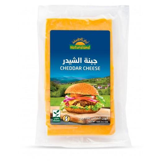 Natureland Organic Cheddar Cheese 150 g