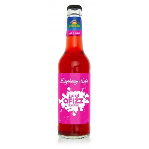 Natureland O Fizz Raspberry Soda 330 ml