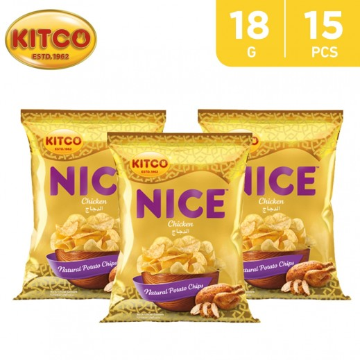Kitco Nice Chips Chicken18 g (15 Pieces)