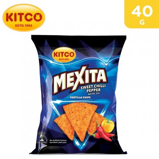 Kitco Mexita Sweet Chilli Pepper Tortilla Chips 40 g