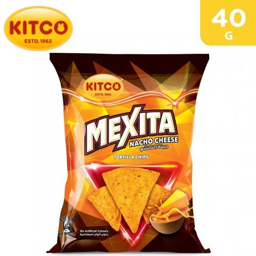 Kitco Mexita Nacho Cheese Tortilla Chips 40 g