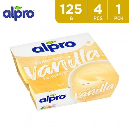 Alpro Soya Vanilla Dessert (4x125 g)