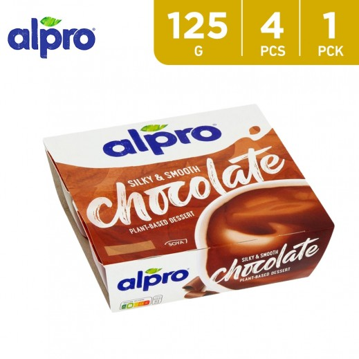 Alpro Soya Chocolate Dessert (4x125 g)