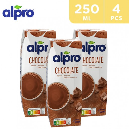 Alpro Soya Chocolate drink 4 x 250 ml