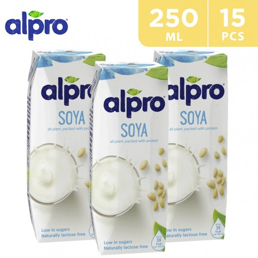 Alpro Soya Original (Natural) 15 x 250 ml
