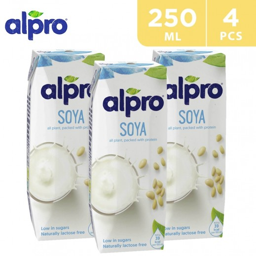 Alpro Soya Original (Natural) 4 x 250 ml