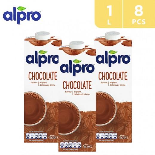 Alpro Soya Chocolate 8 x 1 L