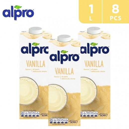 Alpro Soya Vanilla 8 x 1 L